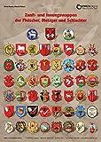 Zunft- und Innungswappen der Fleischer, Metzger und Schlachter: Poster mit Beschreibung