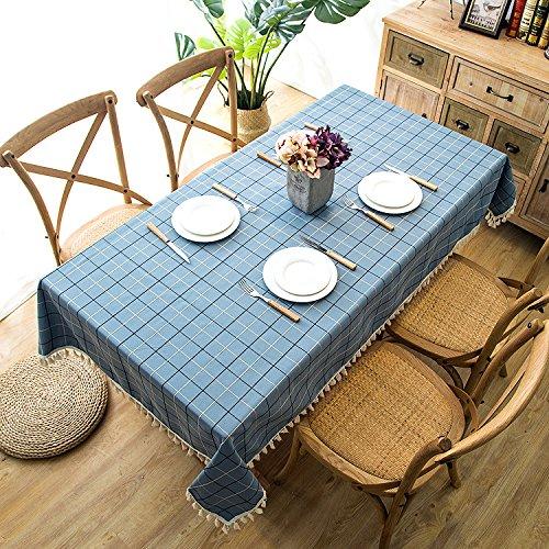 QWEASDZX Tischdecke Einfache Art und Weise Digitaldruck Anti-Staub Staubdicht Rechteckige Tischdecke Wiederverwendbar Schmutzabweisende Tischdecke Geeignet für Innen und Außen 90x90cm