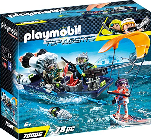 PLAYMOBIL Top Agents Team S.H.A.R.K. Nave Arpón