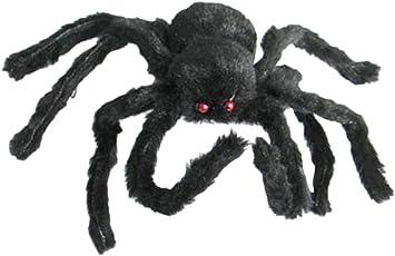 Generic New 30Cm Black Spider Plush Puppet Toy / Halloween Decor