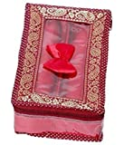 Kuber Industries Brocade 2 Rod Bangle box, Maroon