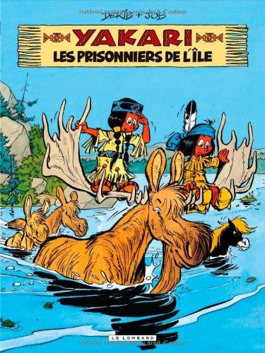 Yakari - tome 9 - Prisonniers de l'île (Les) par Job
