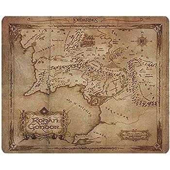 ABYstyle ABYACC165 Tapis de souris Motif Le Seigneur des Anneaux Carte Rohan/Gondor Multicolore