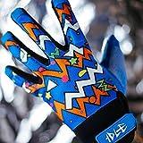 Longboard Slide Gloves - Ideal for beginners (Blue, S/M)