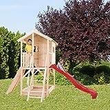 Kinderspielhaus ALIDA aus Holz 382 x 257 (H) CM