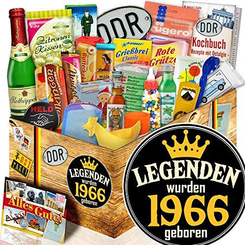 Legenden 1966 + Geschenkbox Ossi 24x Allerlei DDR + Jahrgang 1966