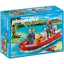 Playmobil 5559 - Braconniers avec bateau
