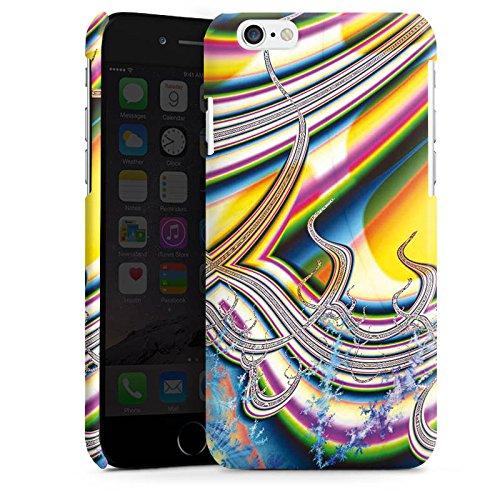 Apple iPhone 4 Housse Étui Silicone Coque Protection Arc-en-ciel couleurs Motif Cas Premium brillant