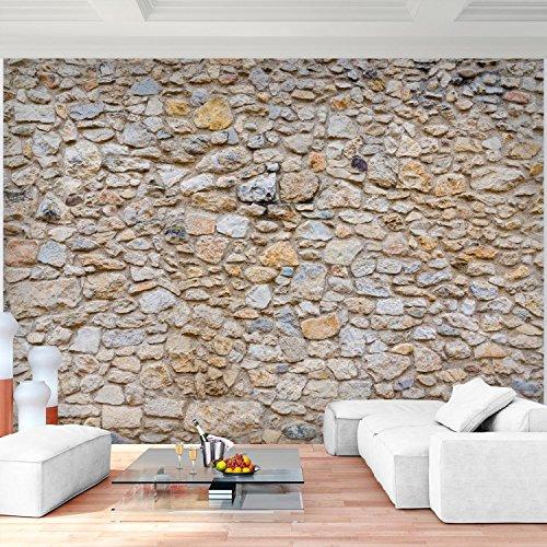 Fototapete Steinwand 3D Effekt 352 X 250 Cm Vlies Wand Tapete Wohnzimmer  Schlafzimmer Büro Flur Dekoration Wandbilder XXL Moderne Wanddeko 100% MADE  IN ...
