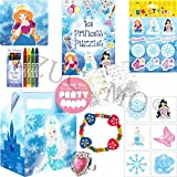 Girls Pre Filled Princess Luxury Childrens Girls Party Bags (Princess Party Bag V1)