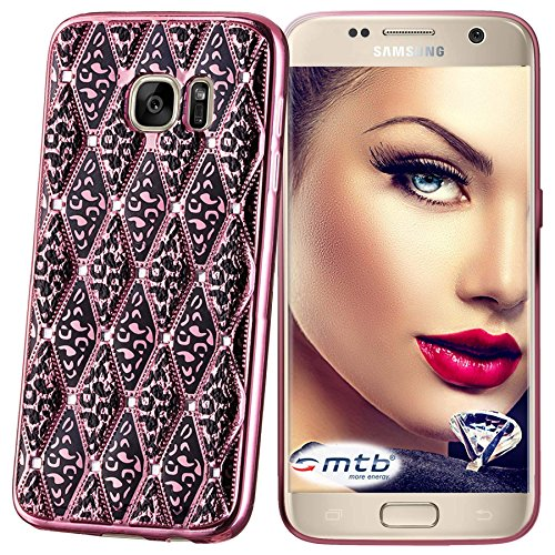mtb more energy® Funda Glamour para Samsung Galaxy S7 Edge (SM-G935) -...