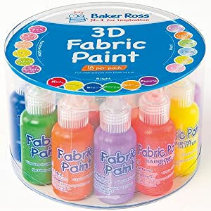 3D Fabric Paint Value Pack (Per pack)
