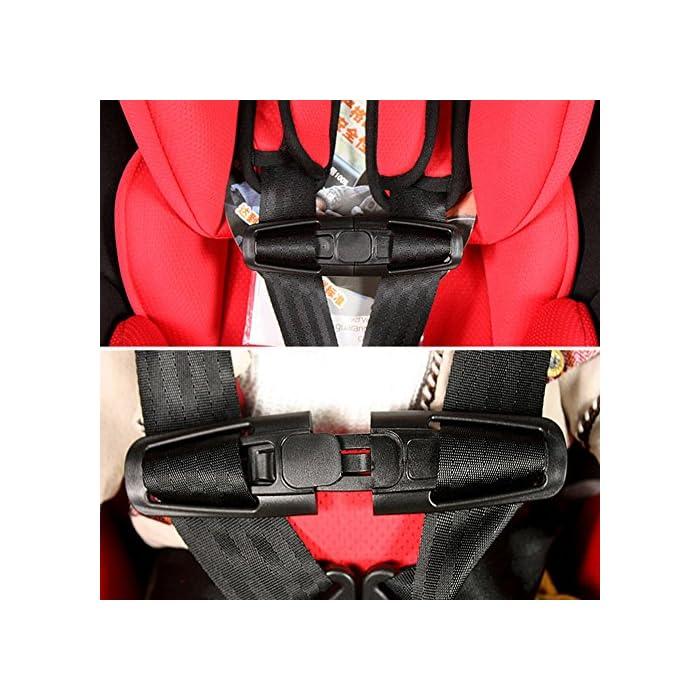 1PC Car Baby Safety Seat Strap Belt Harness Knots Safe Lock Child Clip Buckle