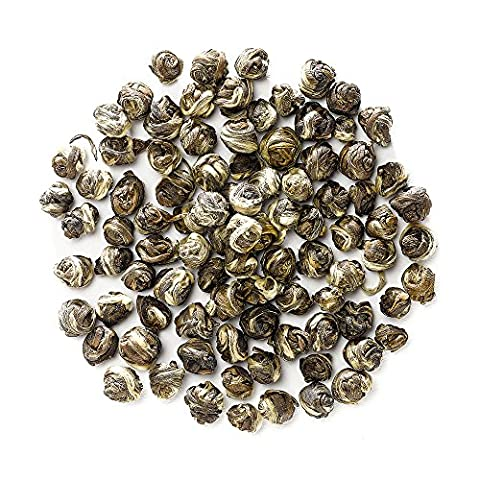 Jasmine Pearl Tea - Jasmine Dragon Pearls Green Tea From China - One Of The Famous Chinese Teas