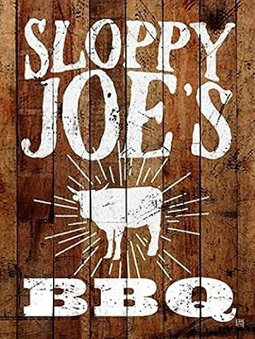 Aubree Perrenoud – Sloppy Joes BBQ Fine Art Print (45.72 x 60.96 cm)