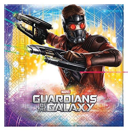 Guardians of the Galaxy Napkins 20 Per (Of Galaxy Dekorationen Guardians The)