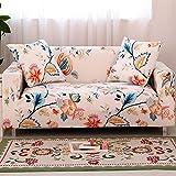 Blanketswarm Simple Fashion Elastic Full Sofa Covers Anti-Rutsch Fleckenabweisend Schonbezug Couch Möbel Schutz Home Decor Full Cover 90x140cm