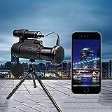 RDJM Digital-Infrarot-Nachtsichtgerät, Nachtsichtfernrohre Mit WIFI Verbinden Mit IOS Und Android APP