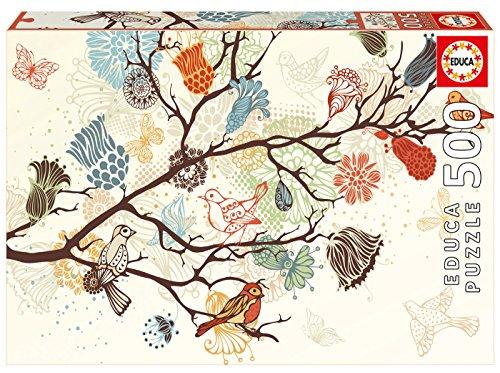 Educa Borrás Puzzle 500 Composición Floral (17646)
