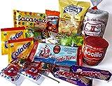 OLÉ Spanische Süssigkeiten Mix mit Nocilla, Spanische Geschenke für Studenten und Kinder, Lustige Geschenke, Spanische Spezialitäten, Spanischer Geschenkkorb