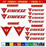 Aufkleber stickers DAINESE -Motorrad- Cod. 0568 (Rosso cod. 031)