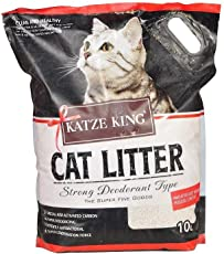 The Pet Point Katze King Exclusive Scoopable Cat Litter with Strong Odour Control 10L (Multi Flavors)