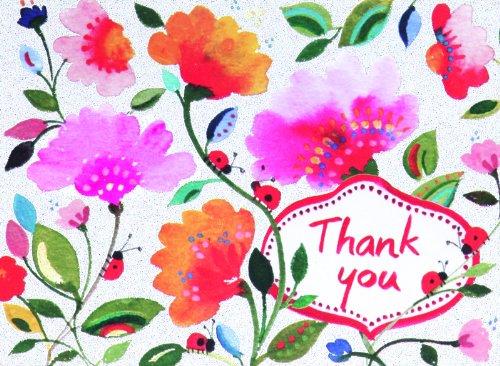 Kim Parker Floral: Thank You Glitz Notecards