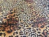 PANTHER LEOPARD Druck Baumwollstoff Material - Tierdruck