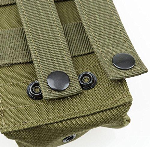 Freien Airsoft Taktische Molle Mbitr Radio Walkie-Talkie-Gürteltasche Tasche Bag Gürtel Gruen