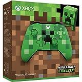 Manette sans fil pour Xbox - Edition Limitée - Minecraft Creeper + code Gears of War 4