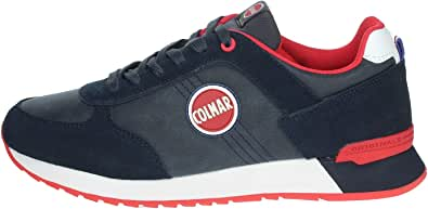 Colmar Travis Colors Boost 300, Sneakers Man, Scarpe da Ginnastica Uomo Navy (Numeric_45)