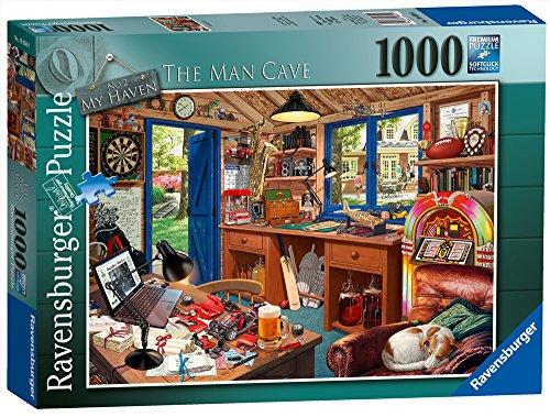 Ravensburger My Haven keine 2. Die Man Cave Spielset Puzzle, 1000Einzelteile