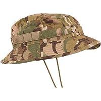Zip Zap Zooom British Army Military Jungle Boonie Sun Bush Hat Bucket Baseball Cap Visor BTP Camo