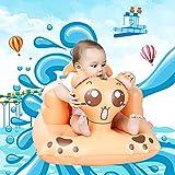 Comaie Divanetto Gonfiabile di Sicurezza Sedile da Neonato Multifunzionale BB Portatile Sgabello da Bagno per Bambini