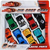 8 Pcs Die Cast Racing Car Vehicle Play Set Cars Kids Boys Toy
