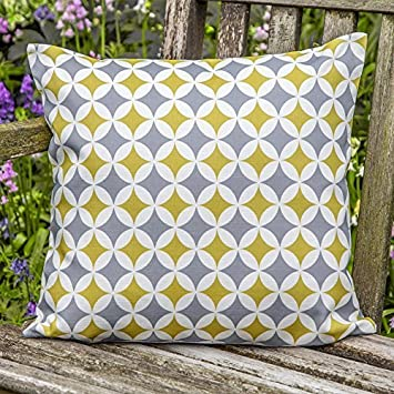 waterproof cushions for outdoor furniture. designer waterproof moroccan garden outdoor cushion grey u0026 mustard bahia u0026quotmarrakechu0026quot cushions for furniture 0
