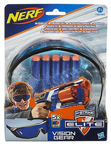 Imagen 1 de Nerf - Elite gafas y dardos (Hasbro A5068E24)
