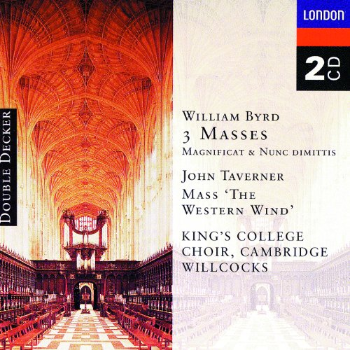 Byrd: 3 Masses, Taverner: West...