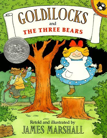 Goldilocks and the Three Bears (Picture Puffin Books) by Marshall, James (1998) Paperback
