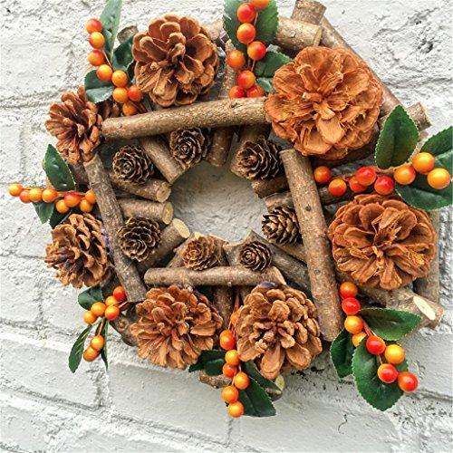 Ghirlande soglia decorazioni natalizie ghirlande di natale berry decorare alberi di natale ghirlande decorazioni vestire ornamenti rami secchi pigne