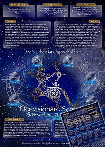 Sternzeichen Schütze - Die Horoskop- und Charakter-Karte für Liebe, Partnerschaft, Beruf, Finanzen und Gesundheit: Die psychologische Astrologie von...