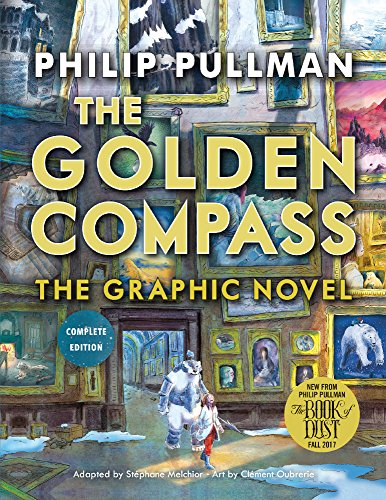 Book cover for The Golden Compass