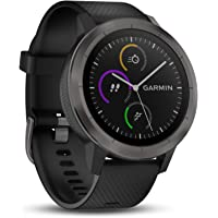 Garmin vívoactive 3 GPS Fitness Smartwatch - preloaded sports apps, contactless payment with Garmin Pay, Gunmetal