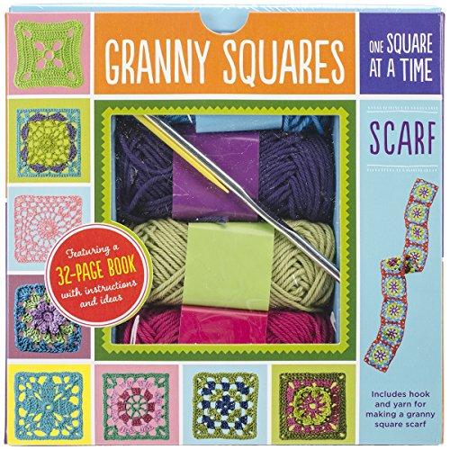 Unbekannt Quayside Publishing Stahl Granny Squares Schal Kit