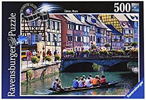 Ravensburger Photo Gallery Colmar Alsace, 500 Piece Puzzle(Jigsaws_and_Puzzles)