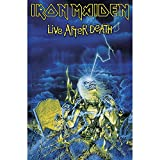 Iron Maiden Live after death Deluxe Textile Poster 104x75cm Flagge