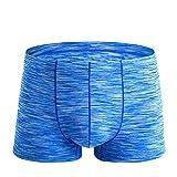 MOIKA Herren Unterhosen Boxer Baumwolle,Mens Elastische Unterwäsche Männer Boxershorts Shorts Ausbuchtung Pouch Weiche Unterhose