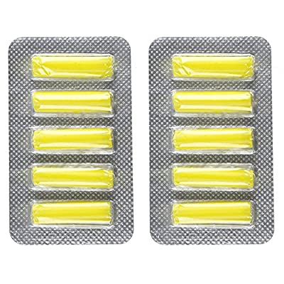 4YourHome Lemon Fresh Air Freshener Sticks For All Bagged Vacuum Cleaners - Twin Pack (10 Sticks) : everything five pounds (or less!)