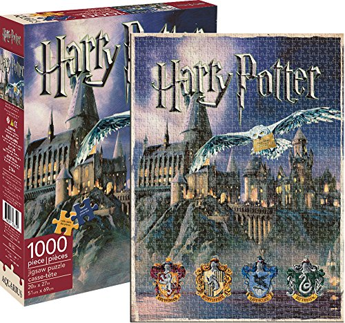 Harry Potter Hogwarts 1000 Stück Jigsaw Puzzle - 51cm X 69cm (nm)