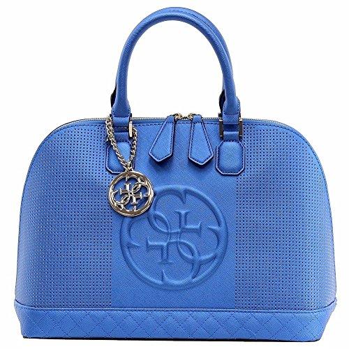 Guess hwvp6172060Boston Bag Femme Bleu - Bleu